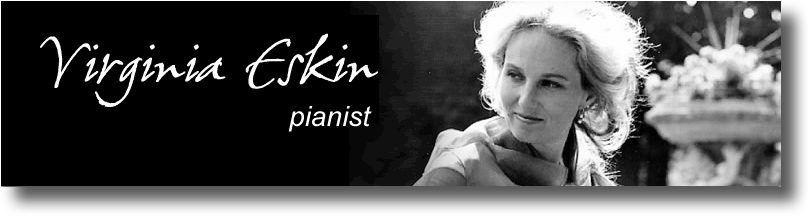 Virginia Eskin, pianist